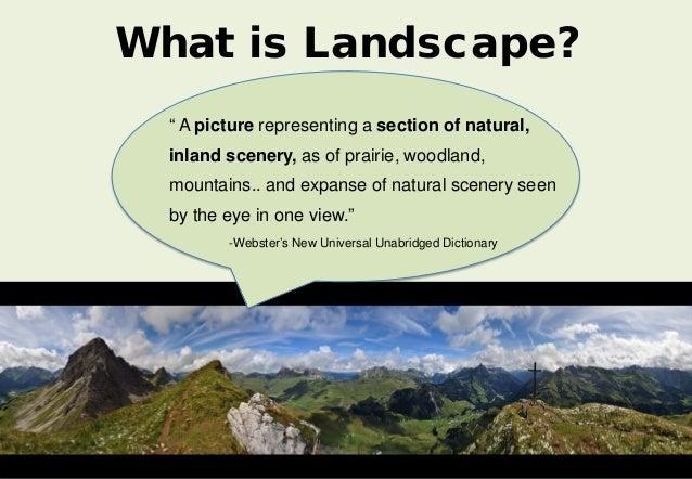 Landscape definition thesaurus 28 images landscape for Badezimmer yedisu
