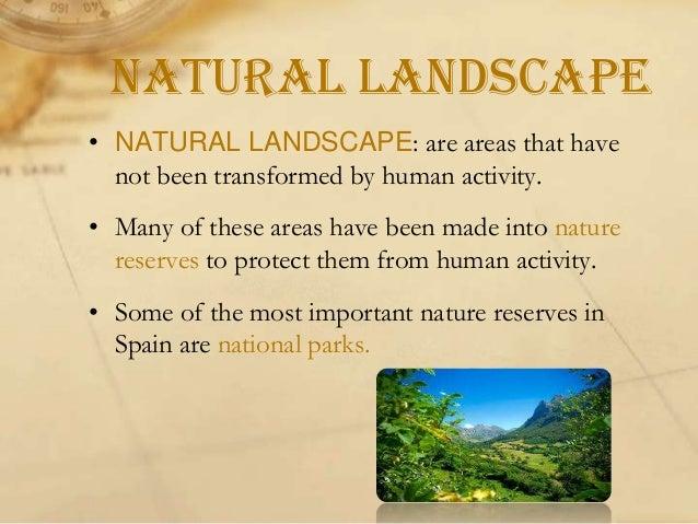 Rural landscape  Urban landscape
