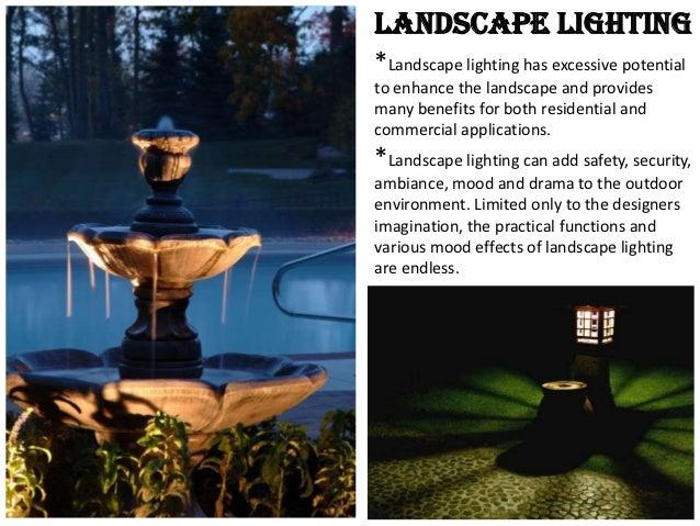 Landscape Lighting Slideshare