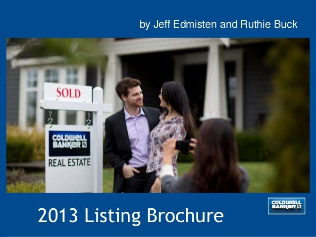 2013 Listing Brochureby Jeff Edmisten and Ruthie Buck