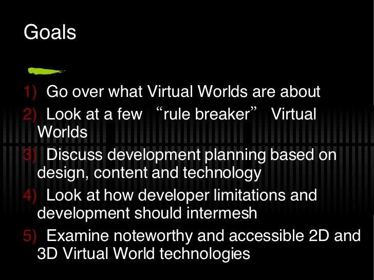 Landscape Of Virtual World Systems Slide 2