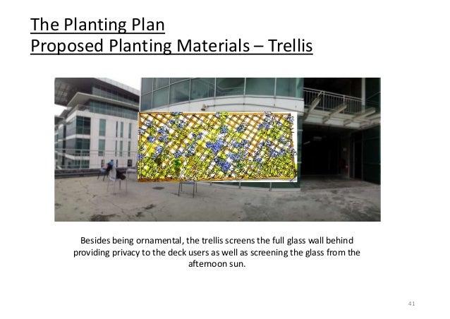 Constructed Landscape Landscape Roof Terrace