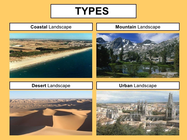 TYPES Coastal Landscape ... - Landscapes