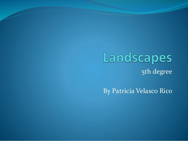 5th degree By Patricia Velasco Rico