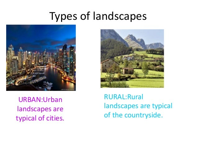 Types of landscapes ... - Landscapes In Spain Maria-moya
