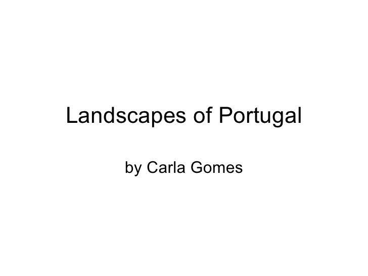 Landscapes of Portugal by Chuck Gary