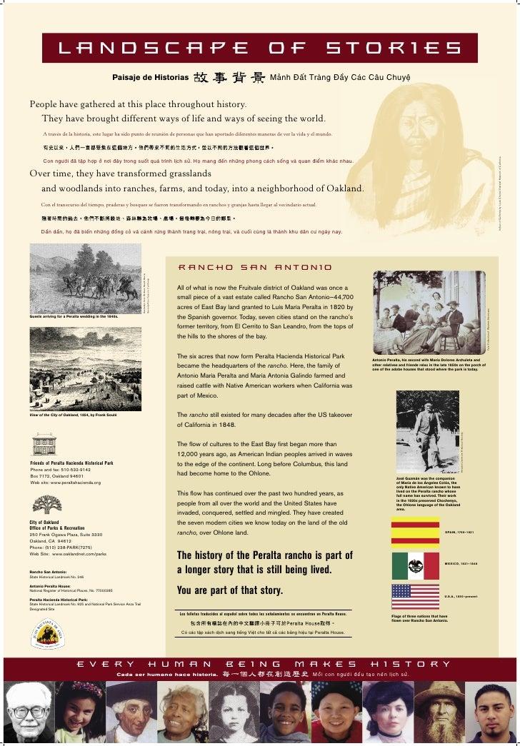 LANDSCAPE OF STORIES                                                    Paisaje de Historias                              ...