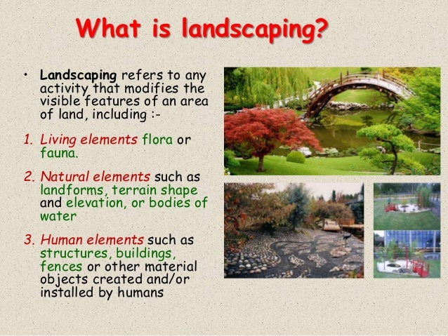 Wonderful What Is Landscaping?