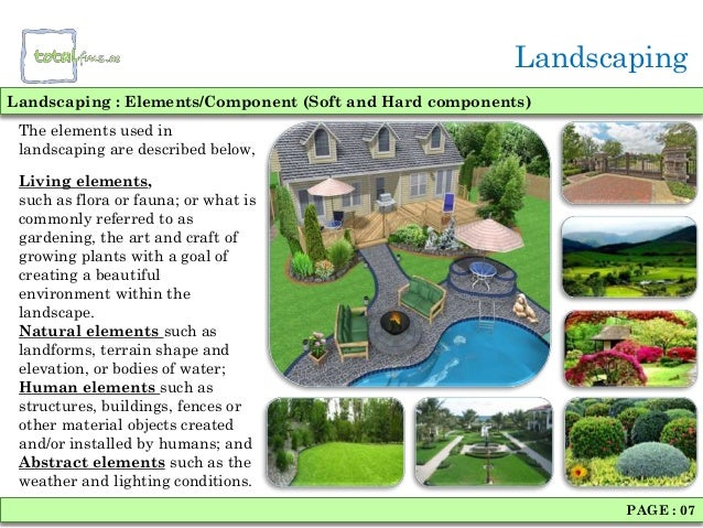 Landscaping architecture - Critical elements for a backyard landscaping ...