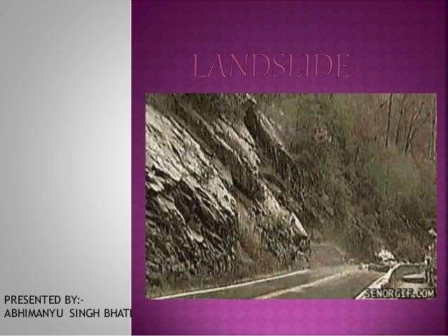 PRESENTED BY:-  ABHIMANYU SINGH BHATI