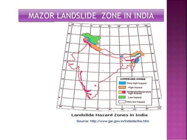 MAZOR LANDSLIDE ZONE IN INDIA