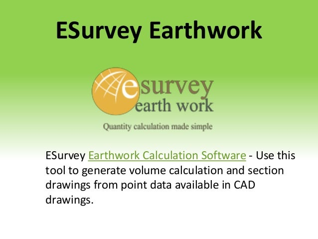 Land surveying software and design solution