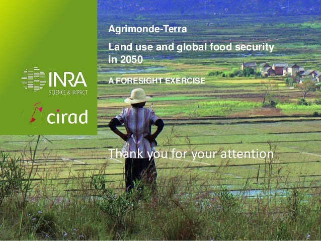 Impact of globalisation on land use and food security