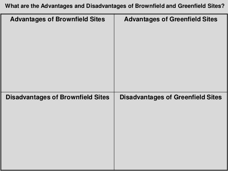 greenfield vs brownfield sites for housing development Developers will refuse build new homes on brownfield land in a bid to force councils release more profitable greenfield sites under new planning laws, mps and heritage groups have warned.