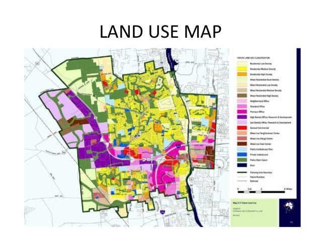 Land Use Planning - Land use classification map us
