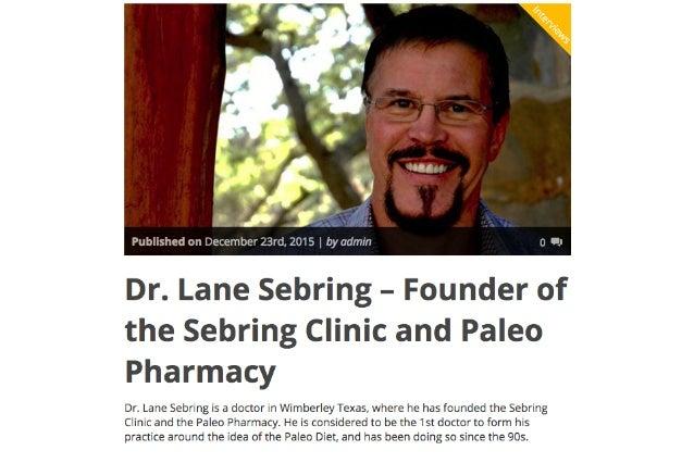 Dr. Lane Sebring Interview on Five Hundo