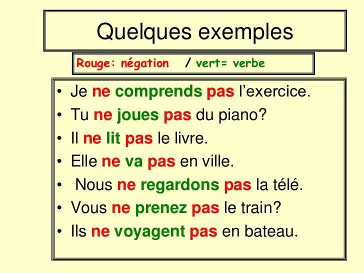 Przeczenie - gramatyka 3 - Francuski przy kawie