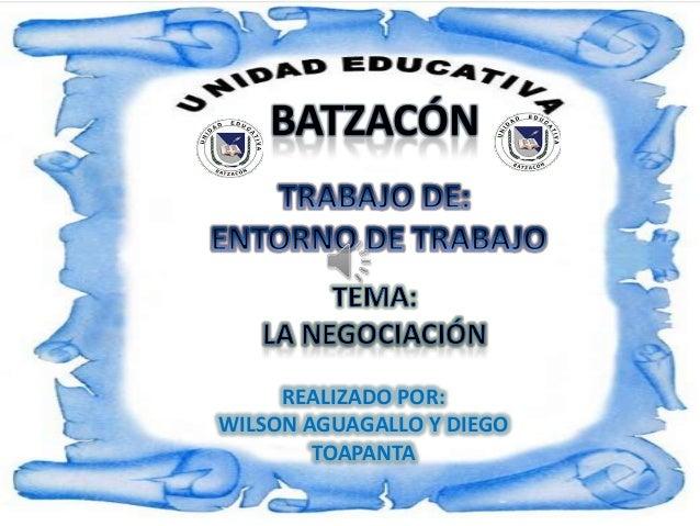 BATZACÓNREALIZADO POR:WILSON AGUAGALLO Y DIEGOTOAPANTA
