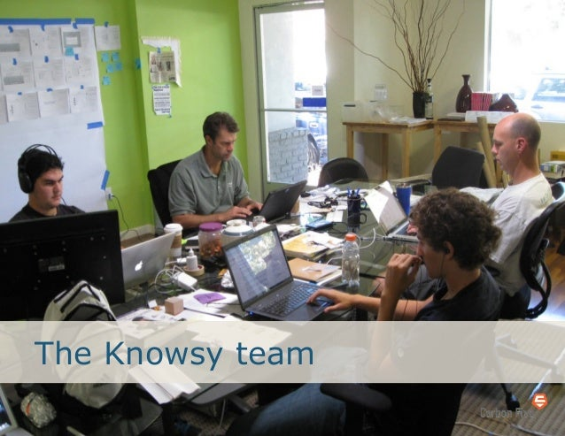 The Knowsy team