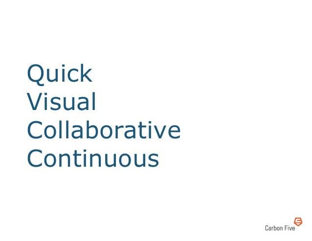 QuickVisualCollaborativeContinuous