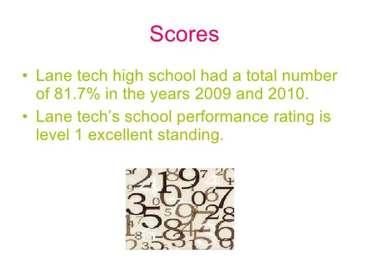 Lane tech Slide 2
