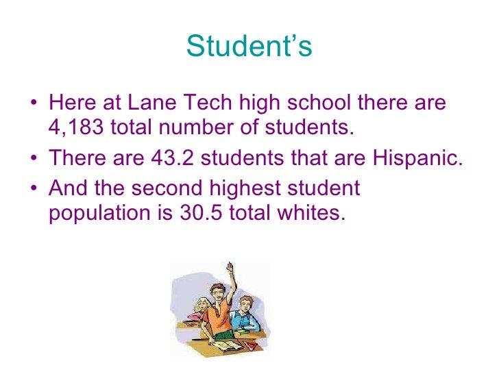 Lane tech Slide 3