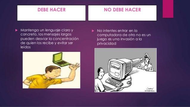LA NETIQUETA  Slide 3