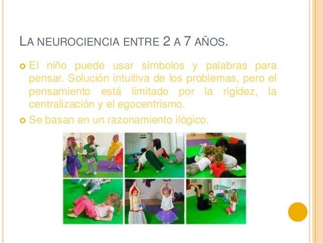 La neurociencia en los primerosaños de vidaDe 0 a 2 años De 2 a 7 añosEgocentrismoCircularidadExperimentaciónFinalismoCond...