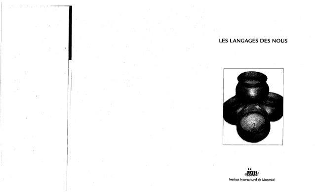 157-Les langages des «nous». Jean-François Lessard, Gustavo Esteva, Pramod Parajulil, Robert Vachon. (document à télécharger en format PDF, 3,9Mb). Slide 3