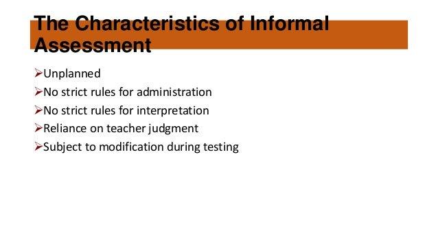 language assessment_formal and informal