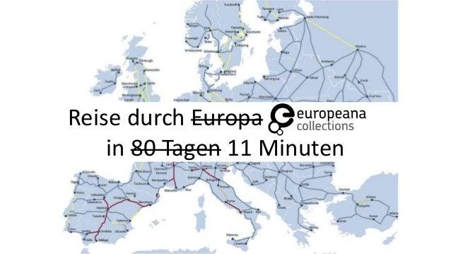 Reise durch Europa in 80 Tagen 11 Minuten