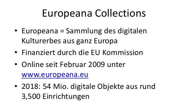 Reise durch Europeana Collections in 11 Minuten Slide 2