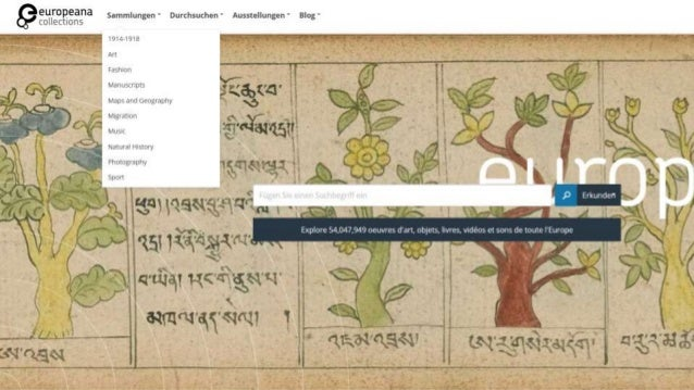 Reise durch Europeana Collections in 11 Minuten Slide 3