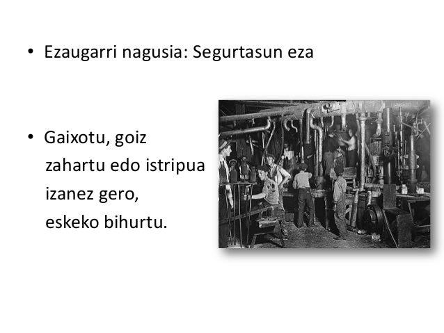 Langileen bizi baldintzak eta antolakuntza XIX. mendean Slide 3