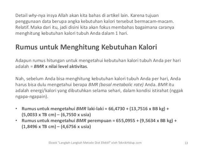 Diet Kalori Per Harian - codetoday