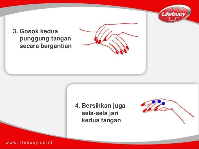 Langkah cuci tangan pakai hand sanitizer bersihkan juga sela sela jari kedua tangan 6 ccuart Images