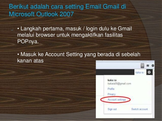 Langkah langkah setting_gmail_di_microsoft_outlook_aziz_bintang_setia…
