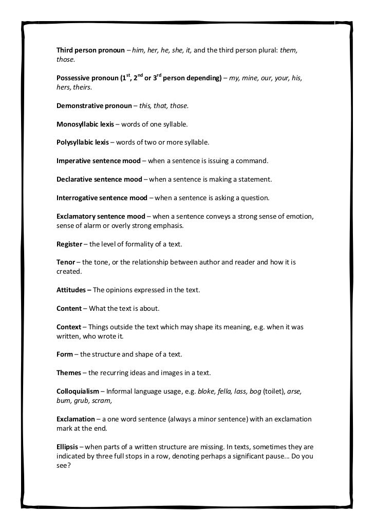 What Is A Thesis Statement In An Essay Examples  English Essay Example also Business Essay Writing Service Alevel English Glossary High School Essay Writing