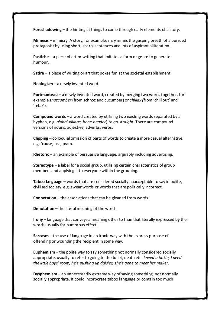 english language revision pdf