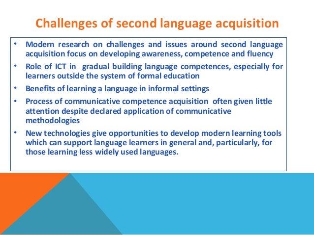 Second-language acquisition