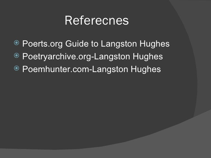 a review of langston hughes poem doorknobs Title: our town - august 18, 2016, author: our town, name: our town - august 18, 2016, length  the langston hughes poem to  quality review assessment tool.