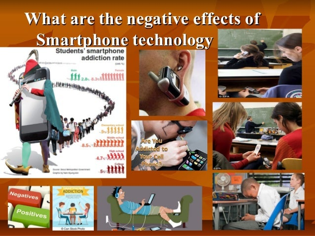 the bad effects of technology