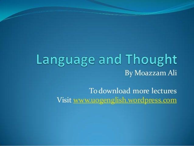 By Moazzam Ali  To download more lectures Visit www.uogenglish.wordpress.com