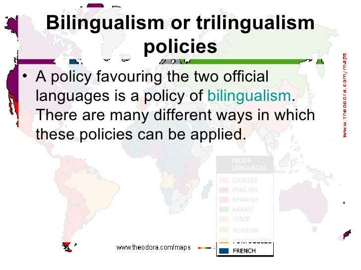 Language Policy - How many types of languages are there in the world