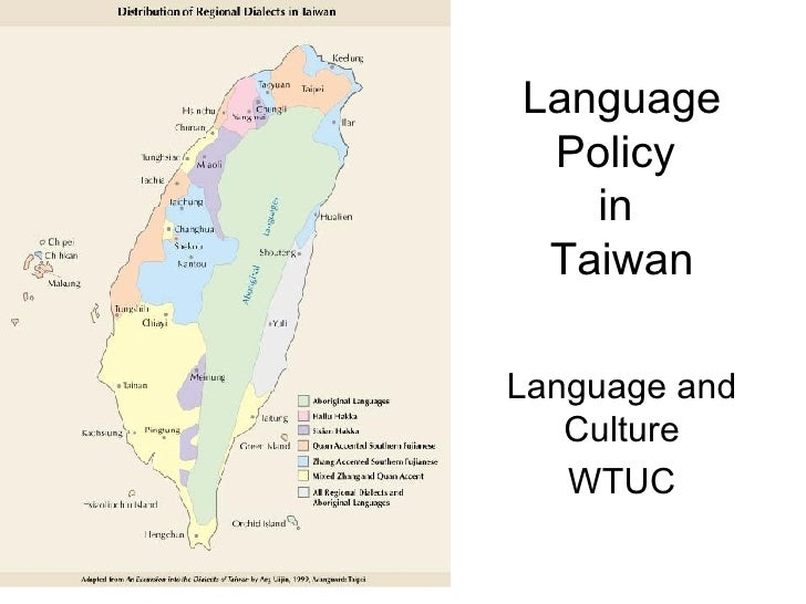 Languages of Taiwan