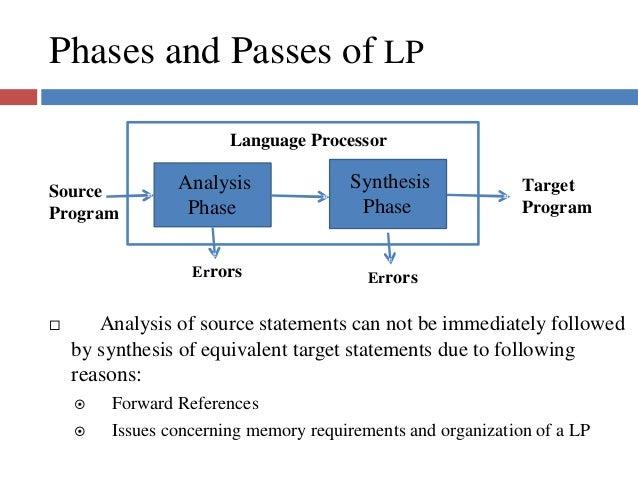 Language processors dw 1 dw 1 dw 1 18 phases and passes of lp language processor ccuart Choice Image