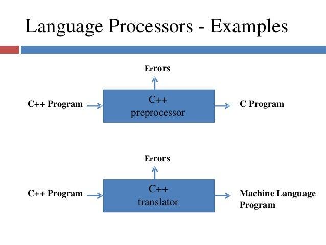 Language processors language processors ccuart Choice Image