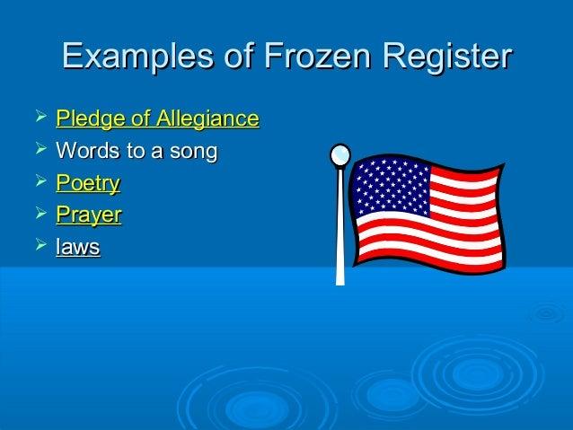 language registers