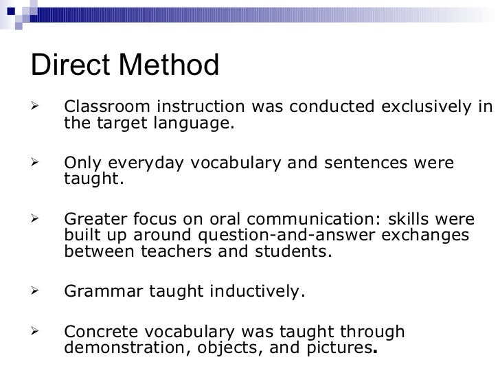 Language Teaching Approaches and Methods
