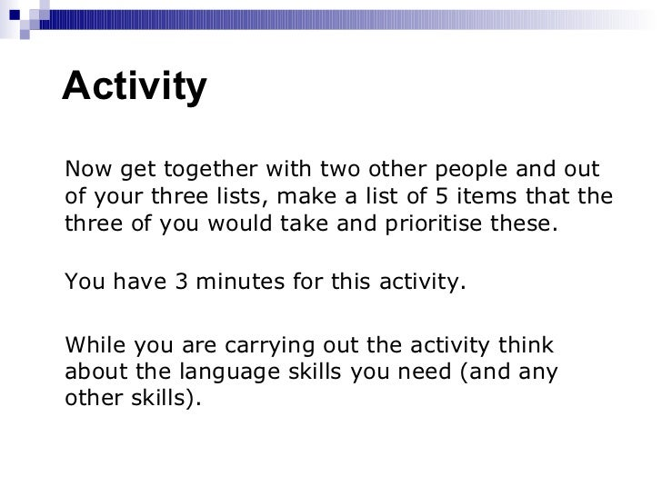 Language Teaching Approaches and Methods Slide 3